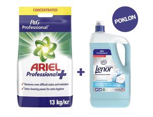 Paket Rublje (Ariel Professional 13 kg + Lenor Spring 5 l)