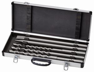 EINHELL 5/1 SDS MAX set svrdla i dlijeta u alu kovčegu