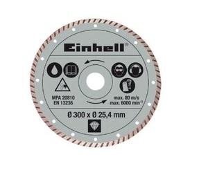 EINHELL dijamantna rezna ploča 300x25.4 mm za RT-SC 920 L