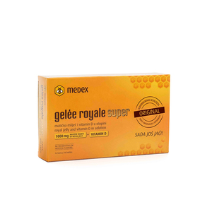 Medex gelee roy. super 1000mg+vit d 16x9