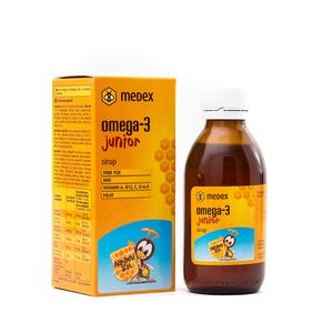 Medex omega-3 sirup junior 140ml