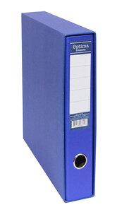 Registrator s kutijom A4 uski OPTIMA Standard plavi