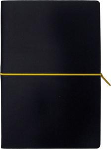 Notes PORTOFINO BLACK A5 14x21 crno-žuti