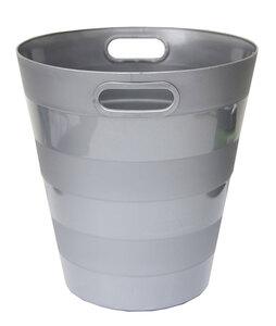 Koš za smeće pvc ARK 1051 srebrni