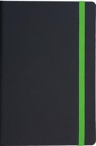 Notes FLUX A5 14x21 crno-svijetlo zeleni