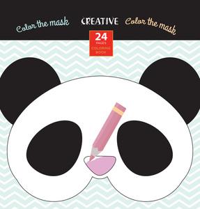 Bojanka za djecu Creative COLOR THE MASK