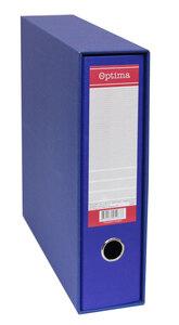Registrator s kutijom A4 široki OPTIMA EKO plavi