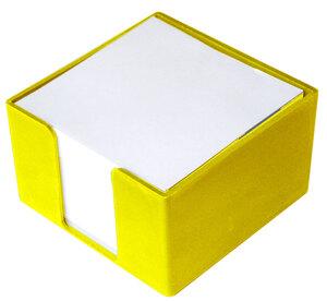 Blok kocka PVC 8x8x5 žuta