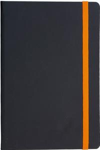 Notes FLUX A5 14x21 crno-narančasti