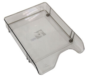 Stalak za papir PVC ARK 360 prozirni dim