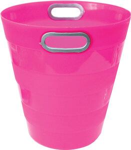 Koš za smeće pvc ARK 1051 fluo roza