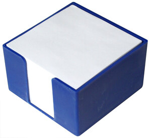 Blok kocka PVC 8x8x5 tamno plava