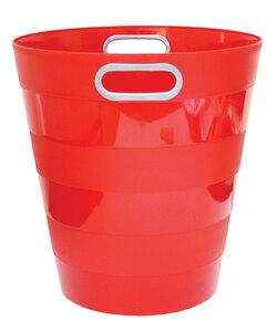 Koš za smeće pvc ARK 1051 crveni