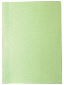 Fascikl prešpan klapna OPTIMA zeleni 21183 25/1