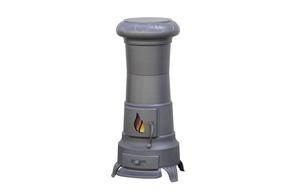 Plamen peć Julia siva