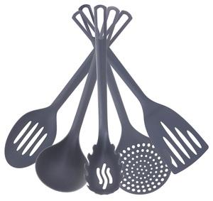 DOMY set žlica za kuhinju 5/1- Graphite nylon