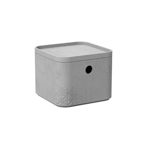 CURVER kutija za spremanje - BETON XS, s poklopcem (17 x 17 x 13 cm)