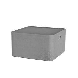 CURVER kutija za spremanje - BETON L ½,  s poklopcem (28 x 28 x 14 cm)