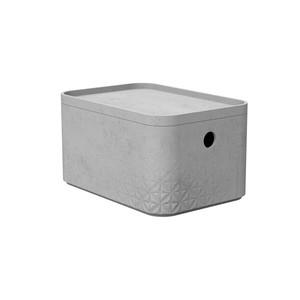 CURVER kutija za spremanje - BETON S, s poklopcem (24 x 17 x 13 cm)