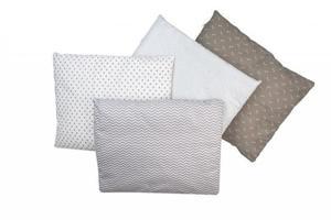 Bubaba jastuk s dvostrukim punilom+navlaka 40 x50 cm