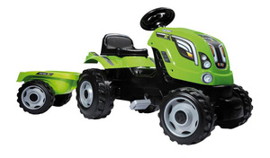 Smoby traktor sa prikolicom zeleni