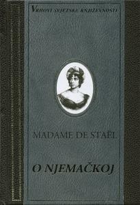 O NJEMAČKOJ, Madame De Stael