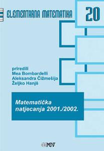 EM 20: Matematička natjecanja 2001./2002., Mea Bombardelli, Aleksandra Čižmešija, Željko Hanjš