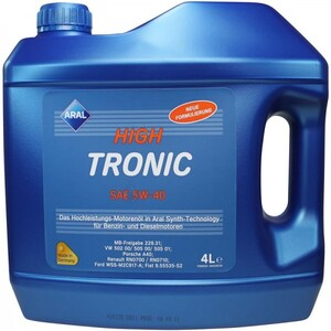 Aral Hightronic new 5W40 4/1