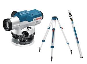 BOSCH Professional GOL 26 D + BT 160 + GR 500 KIT - Optički nivelir + građevni stativ + mjerna letva
