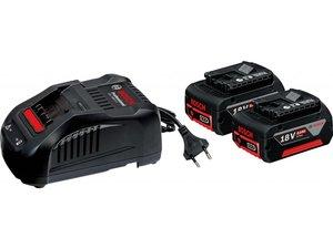 BOSCH Professional starter set 2 x 18 V 5,0 Ah akumulatora + GAL 1880 CV punjač