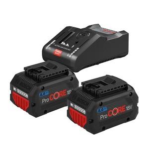 BOSCH Professional starter set 2 x ProCORE 18 V 8.0Ah akumulatora + GAL 1880 CV punjač
