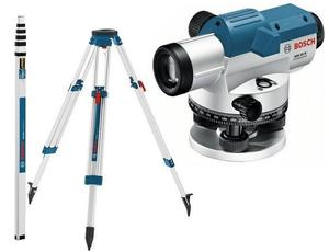 BOSCH Professional GOL 32 D + BT 160 + GR 500 KIT - Optički nivelir + stativ + mjerna letva