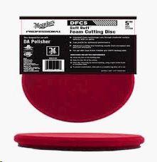 Spužva za poliranje (gruba- crvena)) 125mm za ekscentrične (D/A) polir mašine Meguiars DFC5 DA Foam Cutting disc 5''
