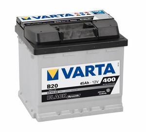 Akumulator Varta Black Dynamic 12V- 45Ah +L/ B 20