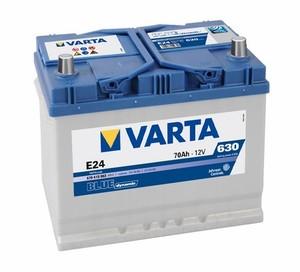 Akumulator Varta Blue Dynamic 12V- 70Ah +L Asia / E24