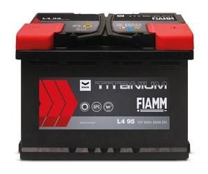 Akumulator FIAMM Titanium Black 12V 60Ah +L