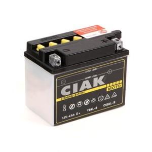 Akumulator Moto CIAK Starter 12V-  4Ah +D