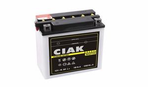 Akumulator Moto CIAK Starter 12V- 18Ah +L