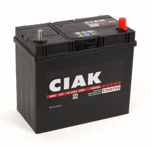 Akumulator CIAK Starter 12V- 45Ah +D Asia