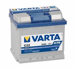 Akumulator Varta Blue Dynamic 12V-  52Ah +D / C22
