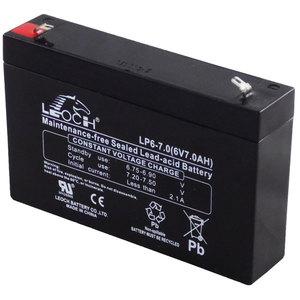 Hermetička baterija LEOCH  6V-  7,2Ah  - T1 terminal