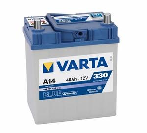Akumulator Varta Blue Dynamic 12V- 40Ah +D Asia / A 14