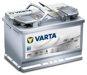 Akumulator Varta Start-Stop Plus (AGM) 12V- 70Ah +D / E39