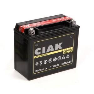 Akumulator Moto AGM CIAK Starter 12V- 18Ah +L