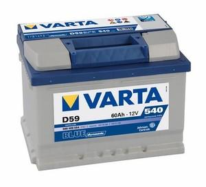 Akumulator Varta Blue Dynamic 12V-  60Ah +D / D59