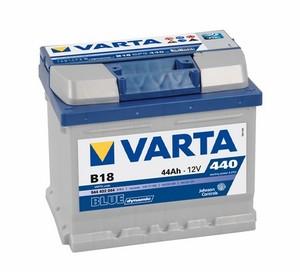 Akumulator Varta Blue Dynamic 12V- 44Ah +D / B 18