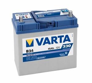 Akumulator Varta Blue Dynamic 12V- 45Ah +L Asia / B 34