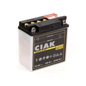 Akumulator Moto CIAK Starter 12V-  9Ah +L