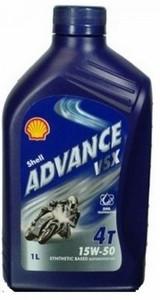 Shell ulje Advance VSX 4T 15W-50 1/1