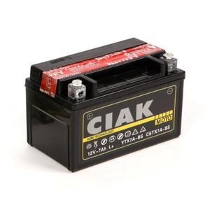 Akumulator Moto AGM CIAK Starter 12V-  7Ah +L